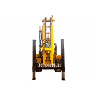 55kw CE Crawler Hydraulic Water Well Drilling Rig Manufactures