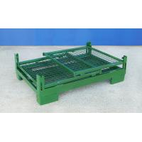 Foldable Wire Container Storage Cages Warehouse Material Handling Manufactures