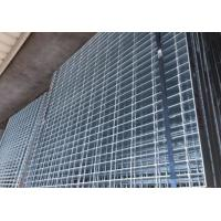 Professional Galvanized Metal Grating 1 - 12m Length Custom For Walkway / Traffic Manufactures