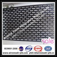 PVC coated oval hole,staggered type perforated metal sheet,metal wire mesh Manufactures