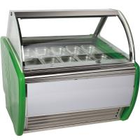 Automatic Defrost Popsicles Ice Cream Display Freezer With 12 Pcs 1 / 3 Pan Manufactures