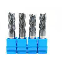 2-12 mm Solid Carbide End Mills 2 / 3 / 4 / 6 Flutes Milling Cutter CNC Tool Manufactures