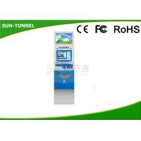 China Self Service Software Dual Screen Kiosk Gift Card Dispenser Anti - Vandal 250cd / ㎡ on sale