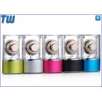Cheap Fashion and Charming Transparent Mini Audio Loudspeaker Supporting USB Flash Drive for sale