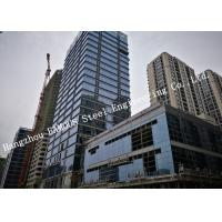 Quality Glass Curtain Wall Framing Multi Storey Steel Building For Shopping Mall Of CBD for sale