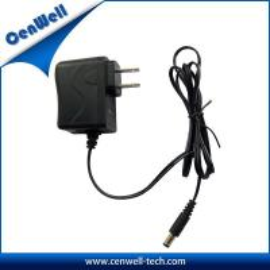 China ce fcc approval cenwell 6V1A us plug dc 6 volt adapter on sale