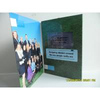 Best Matt / Glossy Lamination LCD Birthday Card ,  LCD Video Brochure With Pocket Manufactures