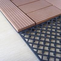 Polished WPC Accessories DIY Tile Keel With PP / PVC Materials 30mm*30mm Manufactures