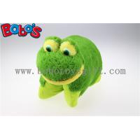 38cm Soft Plush Frog Pet Pillow Stuffed Cushion Manufactures