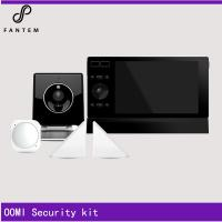 Wireless home alarm system 868mhz, z-wave with OOMI Touch and sensors Manufactures