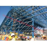 China Pipe Truss/H Shape Portal Frame Industry Structural Steelwork Fabrication on sale