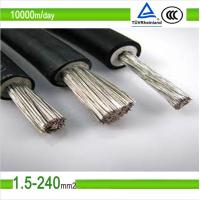 4mm solar cable of China manufacturer Manufactures