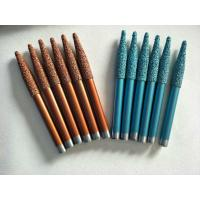 Vacuum Brazed Sculpture Carving Tools For Bluestone With Plastic Box Package Manufactures