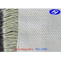 Thin Kevlar Aramid Fabric Plain Woven Slash Resistant Clothing With 0.48MM Thickness Manufactures