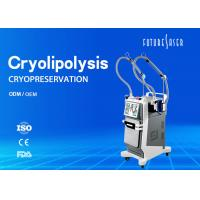 Body Slimming Cryolipolysis Slimming Machine Frozen Cavitation RF Handle Vacuum Manufactures