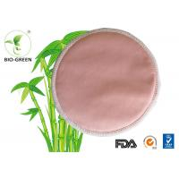 Pink Washable Bamboo Breast Pads , Grey Round Bamboobies Disposable Nursing Pads Manufactures