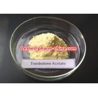 China No Side Effect Anabolic Anti Aging Steroids Yellow Powder Trenbolone Acetate CAS 10161-34-9 on sale