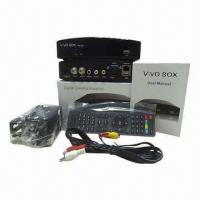 Buy cheap DVB-S Receivers, Vivobox Twin Tuner IKS and SKS, Digital Satellite Receiver from wholesalers