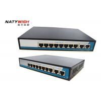 20Gbps Bandwidth Industrial POE Switch 8 Port LED Indicators For Monitoring Power Manufactures