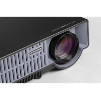 High Lumens Newest 720P Projector USB SD HDMI Proyector LED Beamer With CE UL Certificate Manufactures