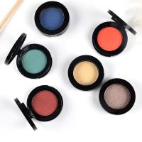 Buy cheap Shimmer / Matte Makeup Eyeshadow Palette Single Color Cosmetics Private Label from wholesalers
