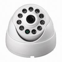 OEM 1/3-inch Sony Super HAD CCD Security Dome Camera, 10 Lamps, 3.6mm Lens Manufactures