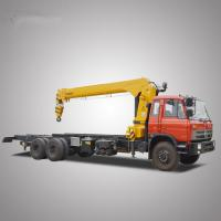 China DongFeng 12 Tons 10 Wheels 6*4 Truck Mounted Crane with Basket for Sale on sale