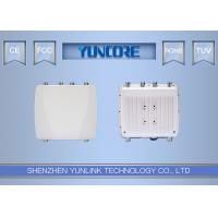 Quality Tri Band Waterproof Outdoor Wireless Access Point 2200Mbps Wi-Fi Base Station for sale