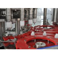 3-In-1 Hot Filling Machine With 2000BPH - 30000BPH Filling Speed For PET Bottles Manufactures