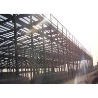 Customized Steel Structure Warehouse For Prefabricated Steel Structure Logistic Center Manufactures