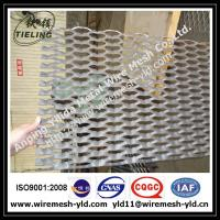 Toothed hole heavy duty expanded metal for walkway,ramp,metal sheet Manufactures