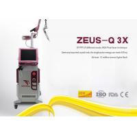 Nd Yag Laser Tattoo Removal Equipment MLA Honeycomb Handpiece 635nm Aiming Beam Manufactures
