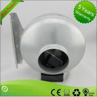 125mm Ventilation In-line Metal Inline Fan Centrifugal Air Blower Manufactures
