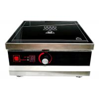 Cheap 3KW Ceramic Induction Hob , Single Induction Cooktop With Temperature Control for sale