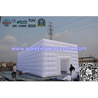 Grand White Durable Inflatable Tent For Party / Wedding And Banquet Manufactures