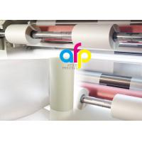Scratch Resistant Polyester Laminating Film For Paper Lamination Soft Touch Manufactures
