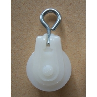Small Nylon Roller Chicken Pulley Poultry Farm Equipment Manufactures