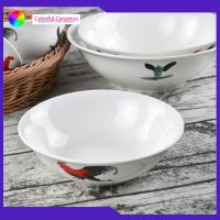 Vintage Porcelain 7 Inch Handmade Ceramic Bowls Customized Food Contact Safe Manufactures