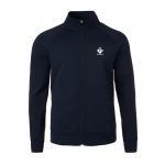 Mens 2018 winter long sleeve cotton polyester fleece full zip jakcet Manufactures