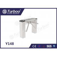 Entry Control Electronic Turnstile Gates Full Automatic For Bus Station Manufactures