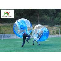 1.0mm PVC Inflatable Bumper Ball Transparent Bubble Ball For Football Games Manufactures