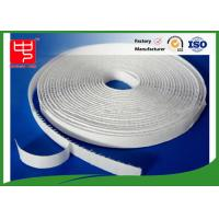 12mm white hook and loop adhesive tape without edge , 25m per roll Manufactures