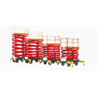 DC 24V Self Propelled Aerial Working Platform For Factory , Hotel
