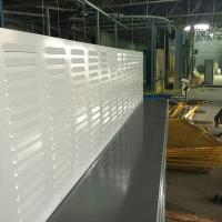 China Louver perforated absorptive acoustic noise barrier wall on sale