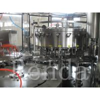 Stainless Steel Small Carbonated Drink Filling Machine 380V ISO Certification Manufactures