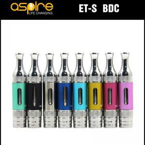 Quality 3mL Aspire ET-S BDC e cigarette oil vapor glassomizer atomizer vapour vape with for sale