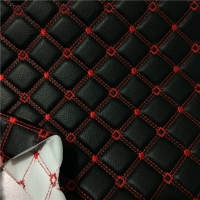 20m Embroidery Stitching ROHS Pu Faux Leather Fabric Manufactures