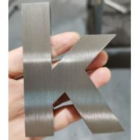 Brushed 3d Stainless Steel Letters 10mm Deep Non Illuminated Customzied Size Manufactures