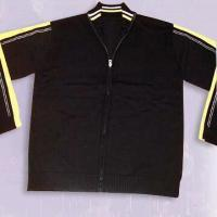 China Men's Sweater in Polo Shirt Design on sale