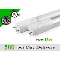 4ft UL Energy Saving T8 Led Tube Light 1200mm 110lm/w 4000k - 4500k Pure White Manufactures